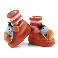 Csörgő zokni - orange donkey