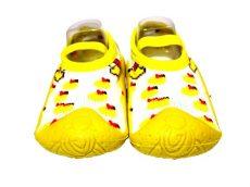 Zokniszandál- sárga