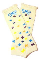 lábszármelegítő- aprómintás virágos