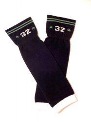lábszármelegítő- fekete 32