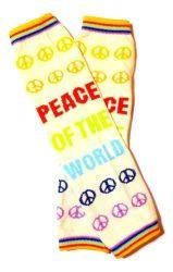 lábszármelegítő- szivárvány peace