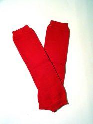 lábszármelegítő- piros