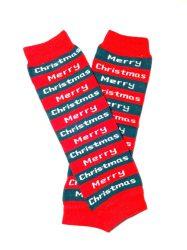 lábszármelegítő- merry christmas karácsonyi