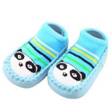 Textil- kék panda