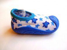 Zokniszandál- kék csillagos