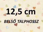 12,5cm = kb. EU 20-as méret