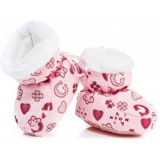Csizma - pufi pink