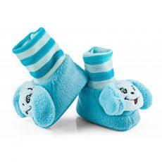 Csörgő zokni - blue dog