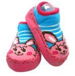 Textil- pink nyuszi