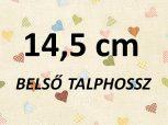 14,5cm = kb. EU 23-24 méret